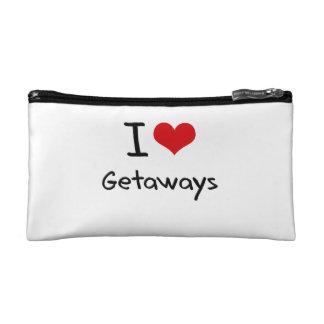 I Love Getaways Cosmetic Bag