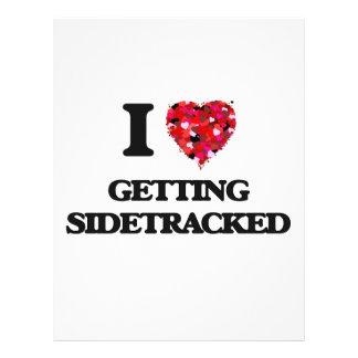 I Love Getting Sidetracked 21.5 Cm X 28 Cm Flyer