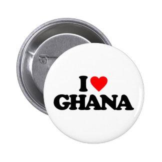 I LOVE GHANA PIN
