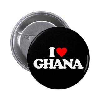 I LOVE GHANA PINS
