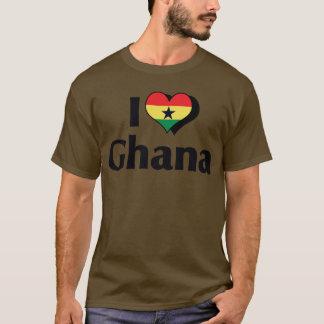I Love Ghana Flag T-Shirt