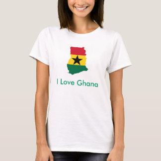 I Love Ghana ladies T-shirt