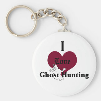I love ghost hunting keychain