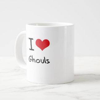 I Love Ghouls Jumbo Mugs
