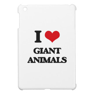 I love Giant animals Cover For The iPad Mini