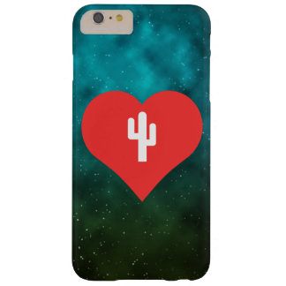 I Love Giant Cactuses Design Barely There iPhone 6 Plus Case
