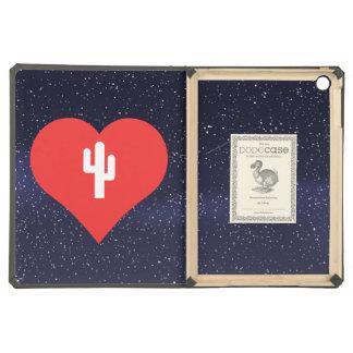 I Love Giant Cactuses Design iPad Air Covers