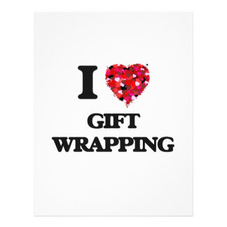 I love Gift Wrapping 21.5 Cm X 28 Cm Flyer