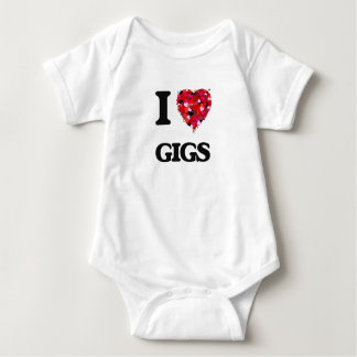 I Love Gigs T Shirts