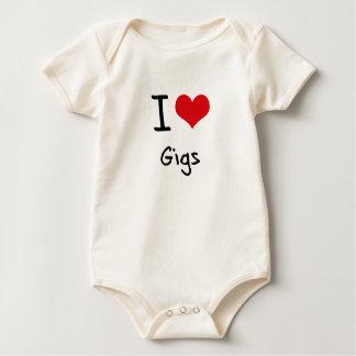 I Love Gigs Bodysuit