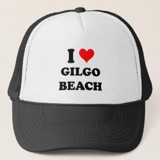 I Love Gilgo Beach New York Trucker Hat
