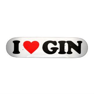 I LOVE GIN 20.6 CM SKATEBOARD DECK
