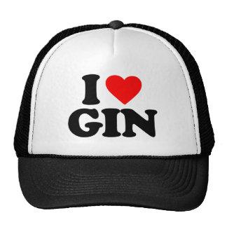 I LOVE GIN HAT