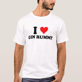 I Love Gin Rummy T-Shirt