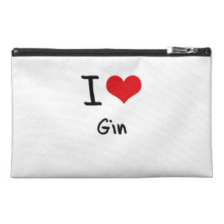 I Love Gin Travel Accessory Bags