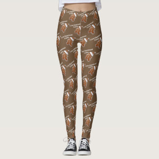 I Love Gingerbread Cookies Leggings