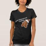 i love gingerbread cookies t-shirt