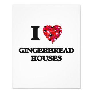 I Love Gingerbread Houses 11.5 Cm X 14 Cm Flyer