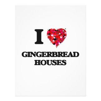 I Love Gingerbread Houses 21.5 Cm X 28 Cm Flyer