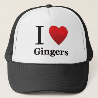 I Love Gingers Hat