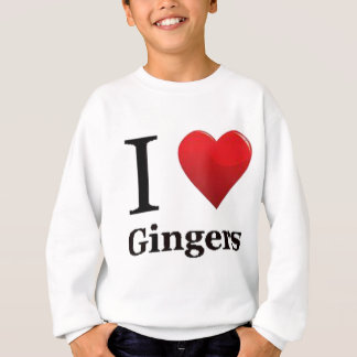 I Love Gingers Sweater