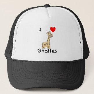 I Love Giraffes (2) Trucker Hat