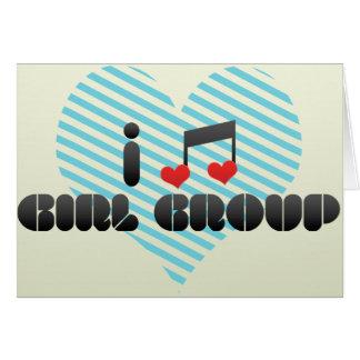 I Love Girl Group Card