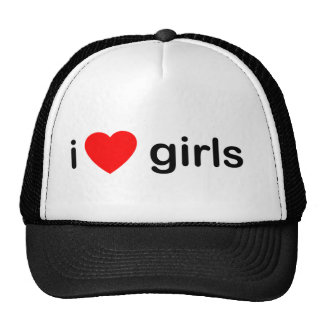 I Love Girls Mesh Hats