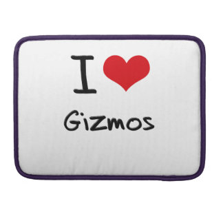 I Love Gizmos Sleeve For MacBook Pro
