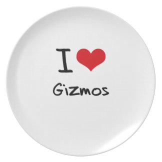 I Love Gizmos Dinner Plate