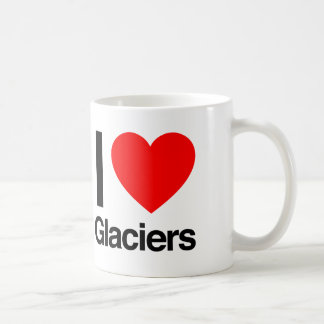 i love glaciers coffee mug