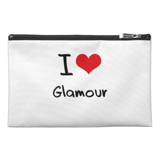 I Love Glamour Travel Accessories Bags