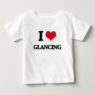 I love Glancing T Shirts