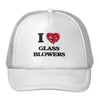 I Love Glass Blowers Cap