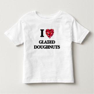I Love Glazed Doughnuts T-shirts