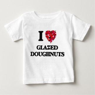 I Love Glazed Doughnuts Tshirt