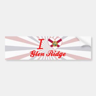 I Love Glen Ridge, Florida Bumper Stickers