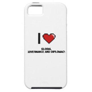 I Love Global Governance And Diplomacy Digital Des iPhone 5 Case