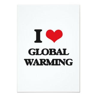I love Global Warming Card