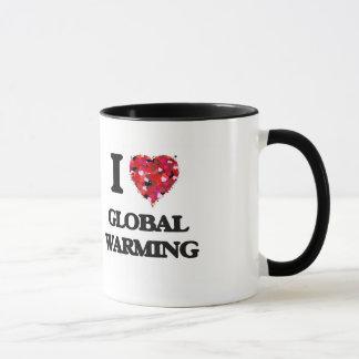 I Love Global Warming Mug