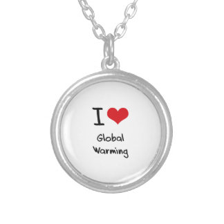 I Love Global Warming Custom Jewelry