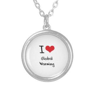 I Love Global Warming Jewelry