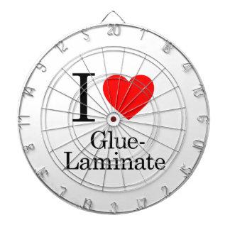 I Love Glue-Laminate Dart Boards