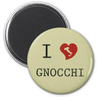 I Love Gnocchi Magnets