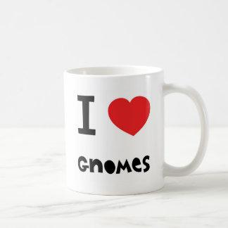 I love gnomes mug mug