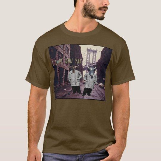 I LoVE GNU YAK T-Shirt