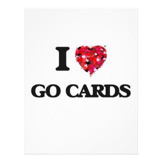 I love Go Cards 21.5 Cm X 28 Cm Flyer