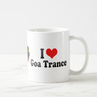 I Love Goa Trance Coffee Mugs