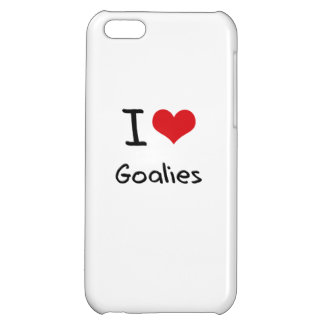 I Love Goalies iPhone 5C Cover