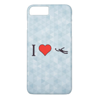 I Love Goalkeepers iPhone 7 Plus Case